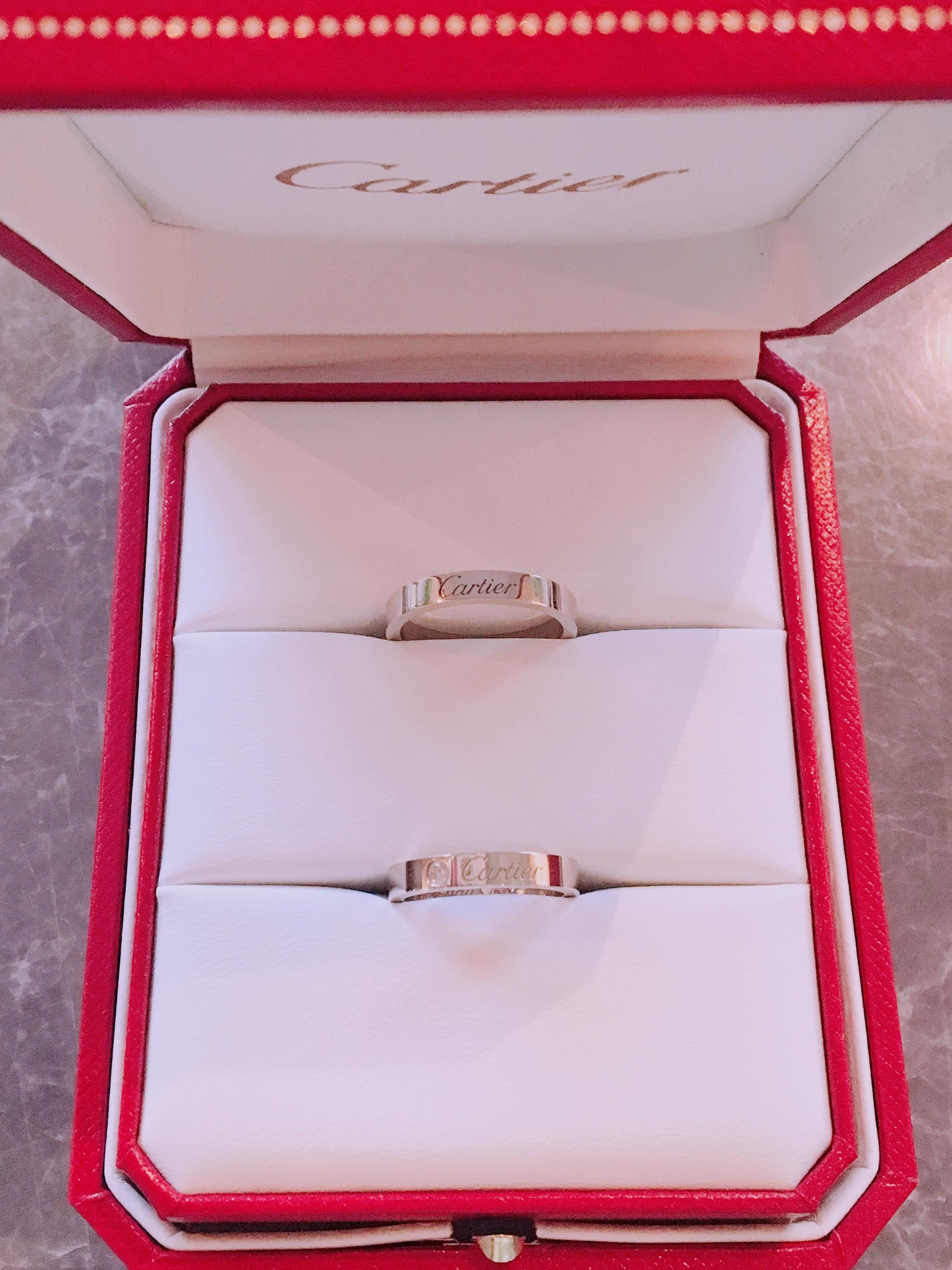 【結婚指輪】デザインが素敵なカルティエにしました❤︎_2