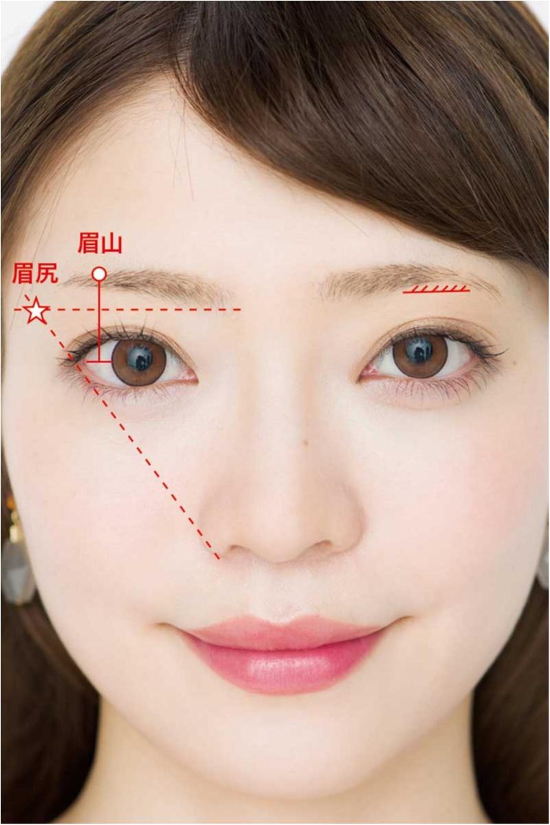 えら張り、丸顔etc. 顔の形のお悩みを即クリア。眉を変えるだけ!!「劇的小顔」テク♡_3_1