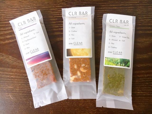 【トレ飯】自然素材だけでつくったプロテインバー《CLR BAR》で満腹感とタンパク質をget♪_1