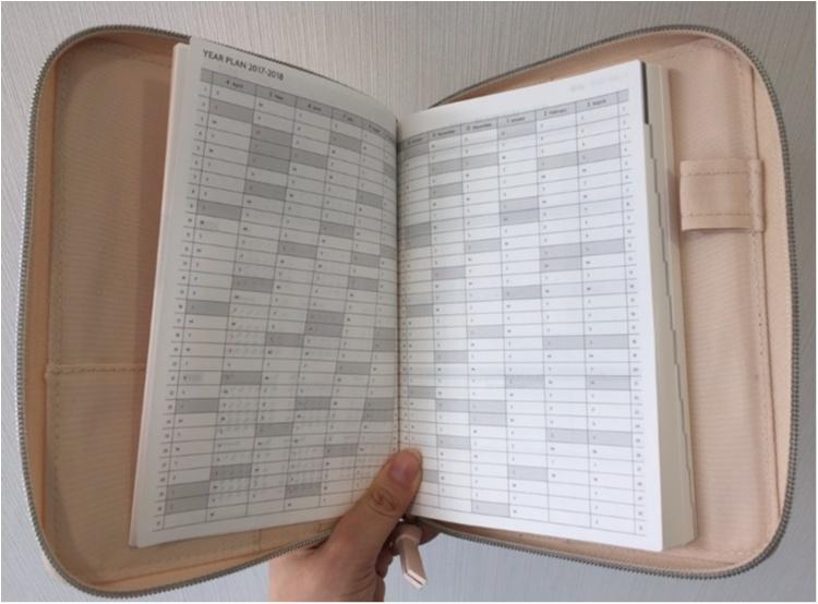 日本文具大賞受賞!!【EDit×PAUL&JOE】のコラボ手帳に新調♪♪その魅力とは...✨_6