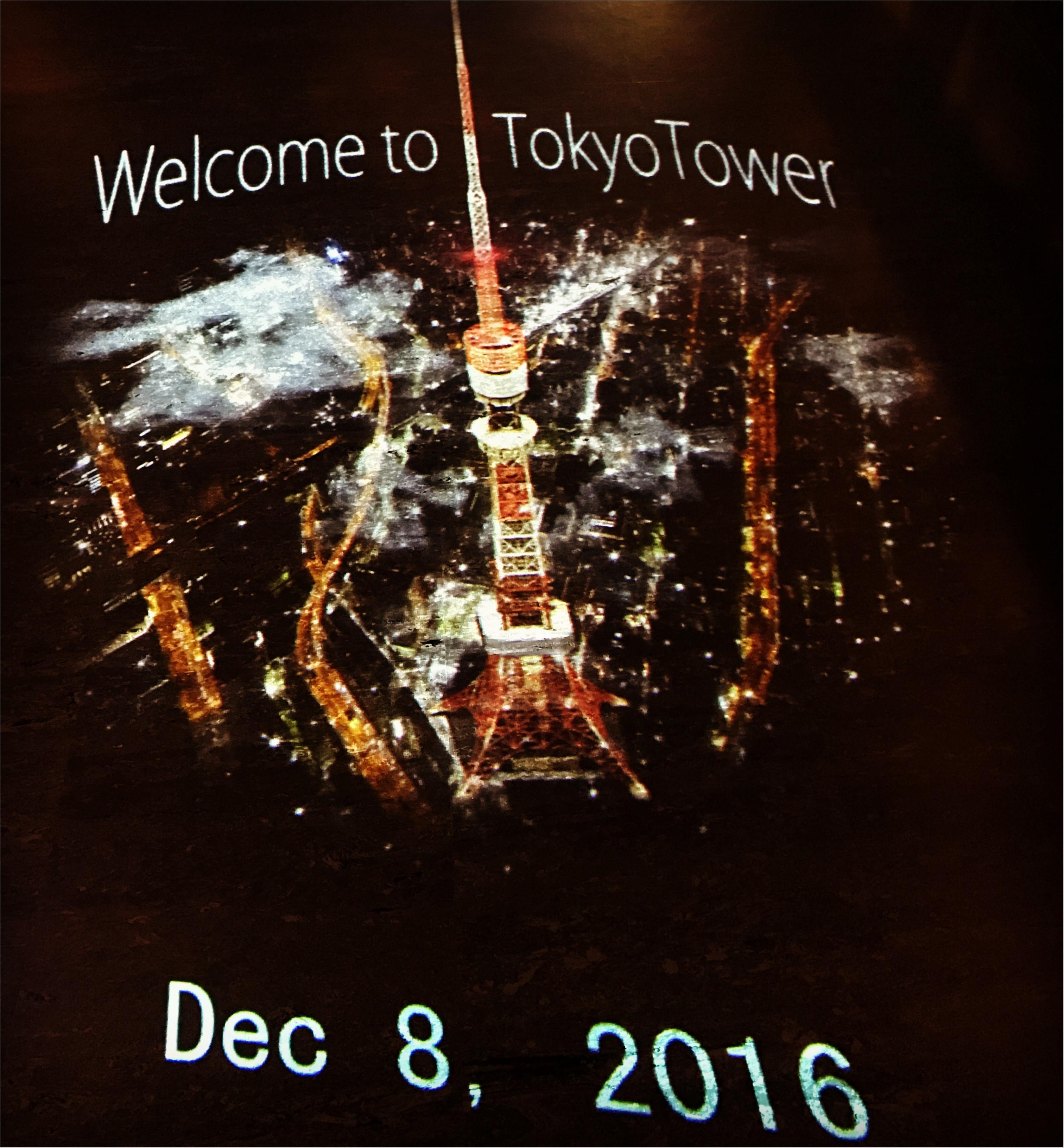 東京散歩~東京タワーのプロジェクションマッピング_4