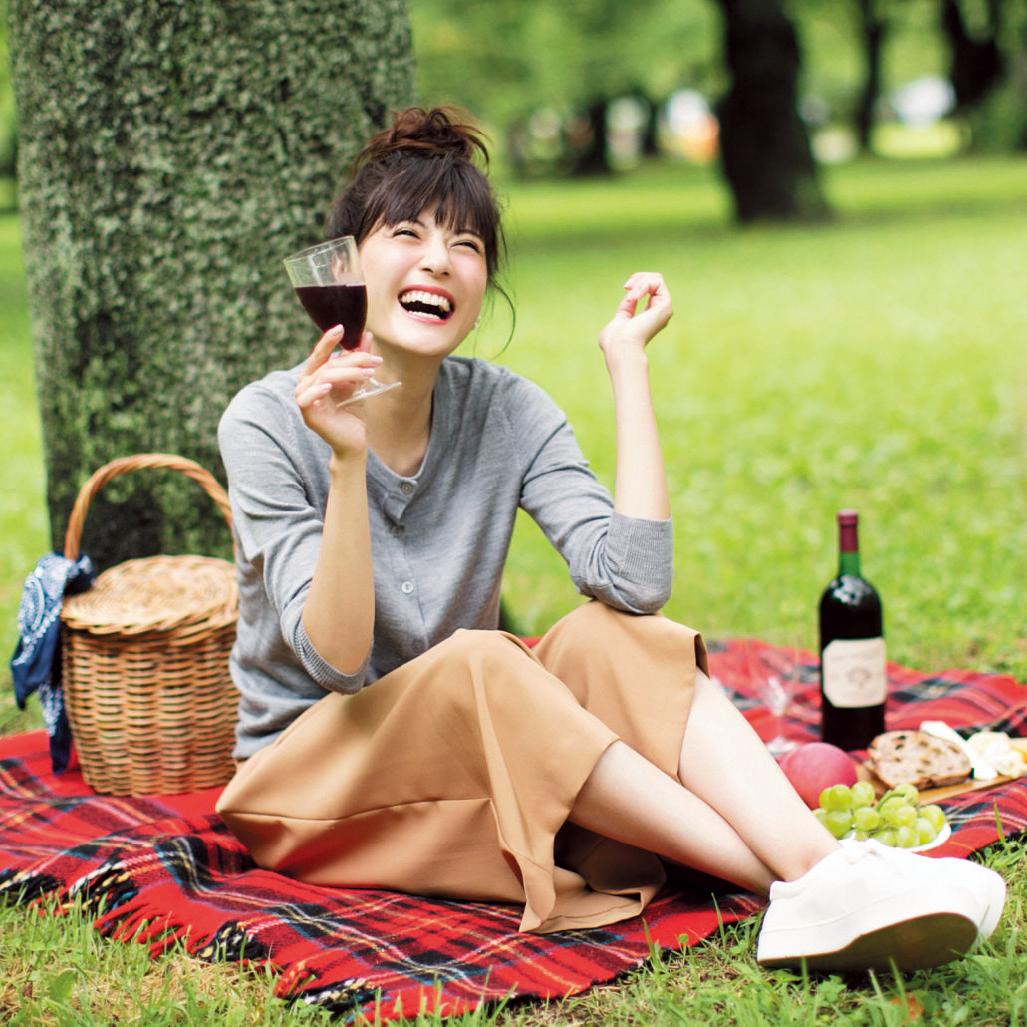 【今日のコーデ】楽ちんおしゃれなガウチョスタイルで、秋晴れの日曜日にピクニックデート♡_1