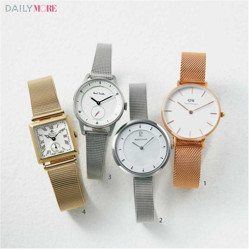 """メッシュ? 型押し? この春、腕時計は """"ベルトで選べばうまくいく"""" んです!【編集部オススメの10本】_1_3"""