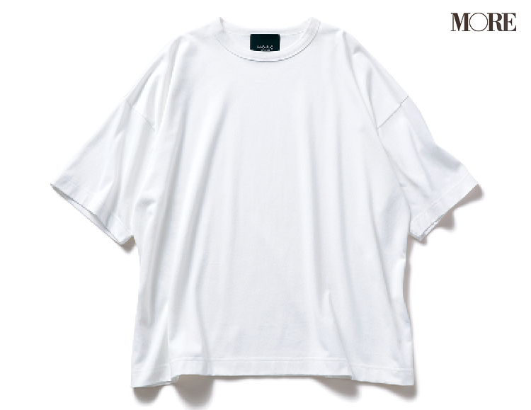 体がきれいに見える白Tなら、×デニムで即おしゃれ。飯豊まりえが実践!PhotoGallery_1_2