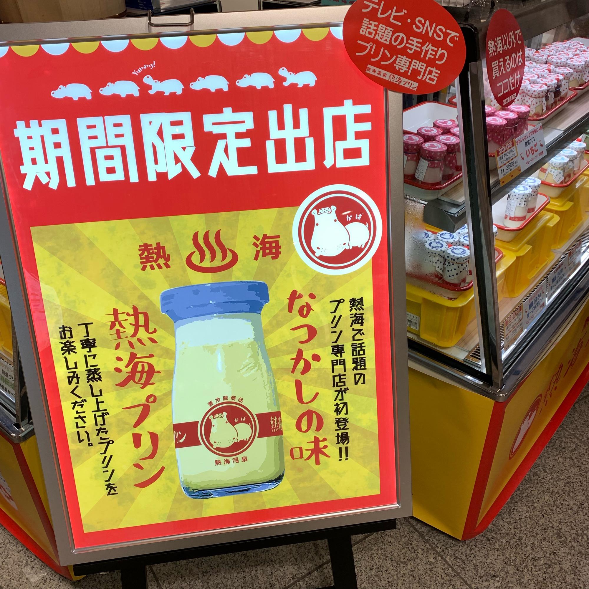《東京駅に期間限定open❤️》地元で大人気!あの【熱海プリン】を買ってみました☻_1