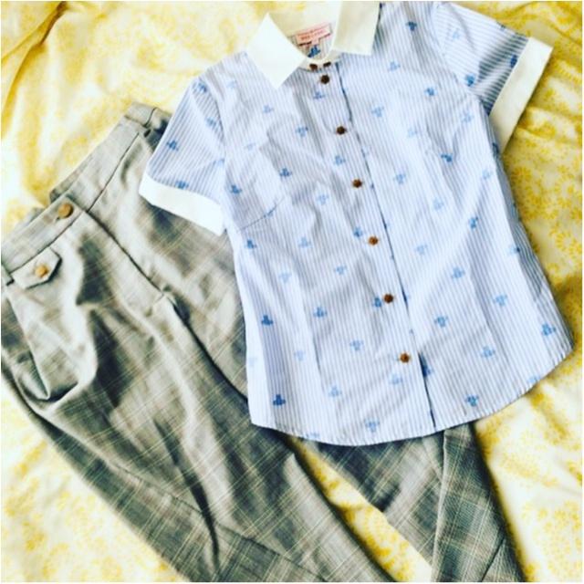 ≪神戸三田プレミアム・アウトレット≫で、【Vivienne Westwood】のシャツとボトムスGETしちゃいました。_1