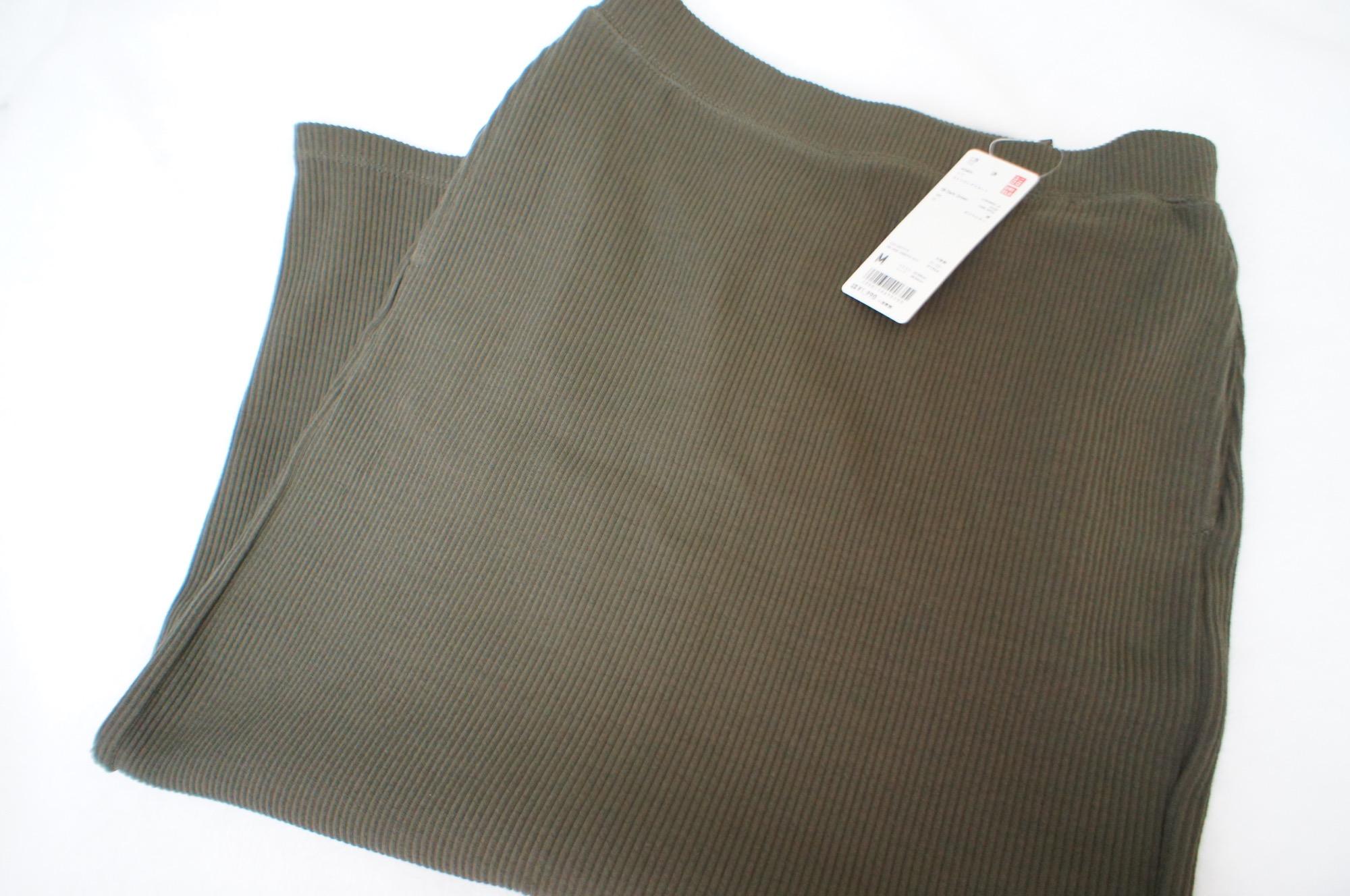 《#170cmトールガール》のプチプラコーデ❤️トレンド感たっぷり!【UNIQLO】リブタイトロングスカートが使える☻_1