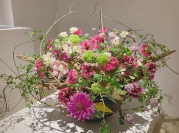 3/25まで!第100回草月いけばな展「花賛歌」が日本橋高島屋で開催中♡