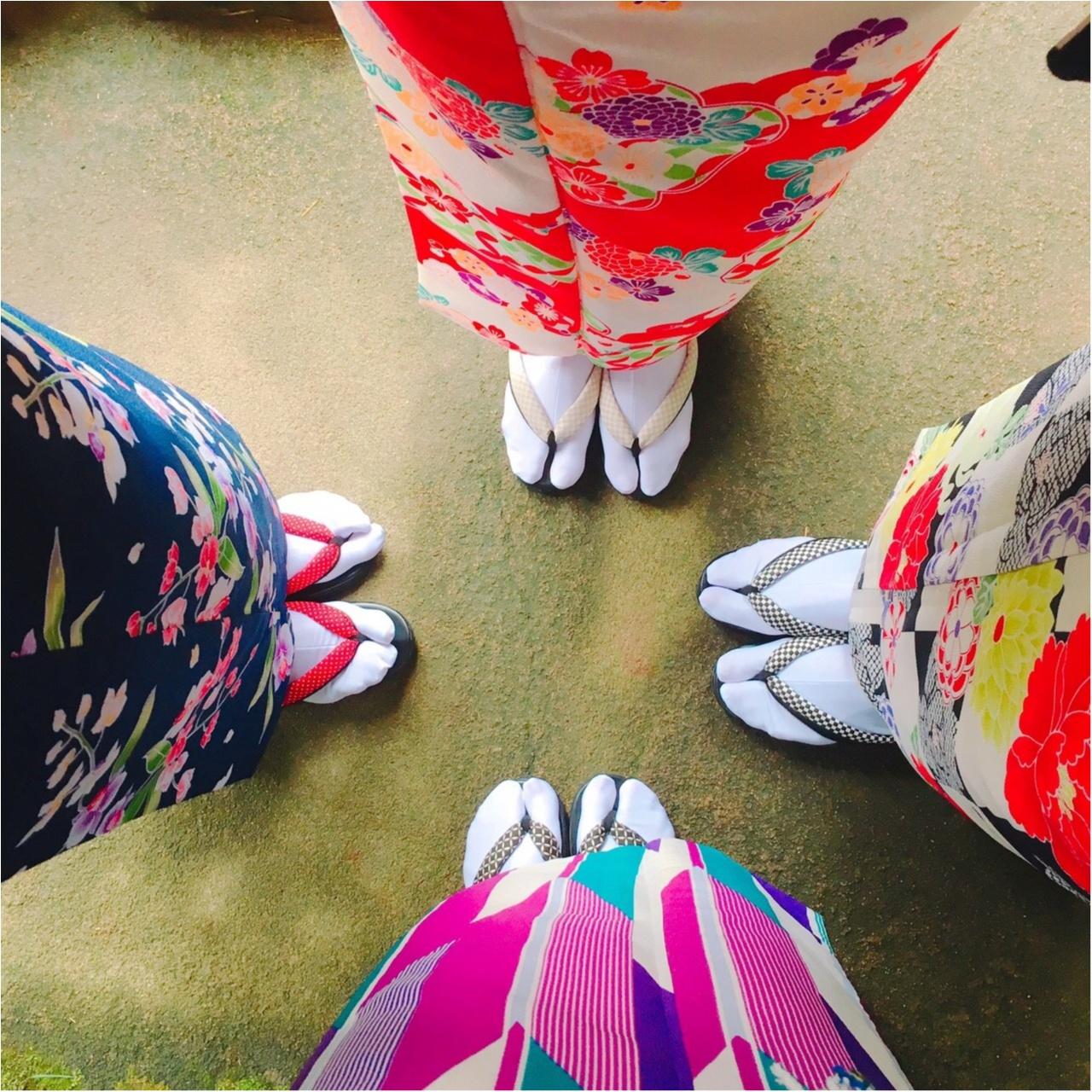 【✨着物レンタルwargo ¥2,900✨】手ぶらでOK!着物を着てお出掛けしよう❤︎鎌倉の「報国寺の竹林」「浄妙寺」「小町通り」を散歩しました♩≪samenyan≫_28