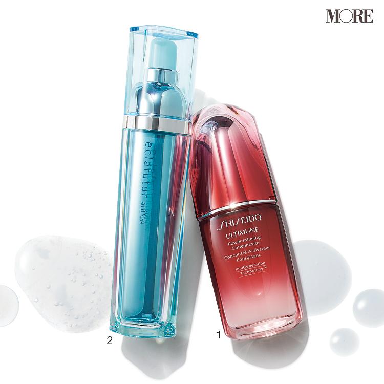 『SHISEIDO』『アルビオン』の万能美容液で、肌の夏バテ防止。日ましに透明感が上がる♡ 調子がいい肌が続く♡_2