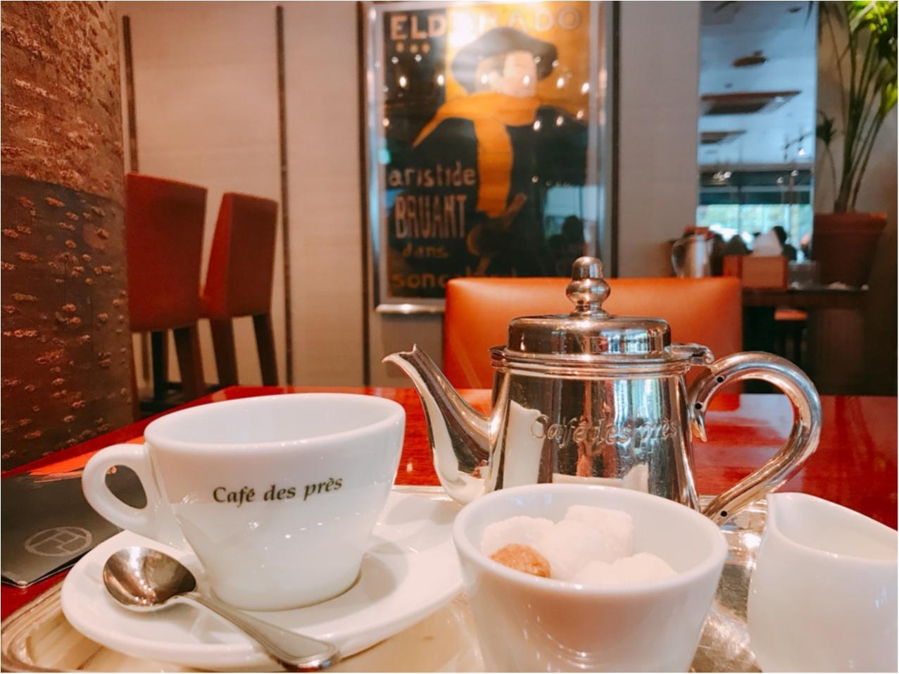 広尾で今行くべきカフェは《Cafe des pres(カフェ・デ・プレ)》!!_2