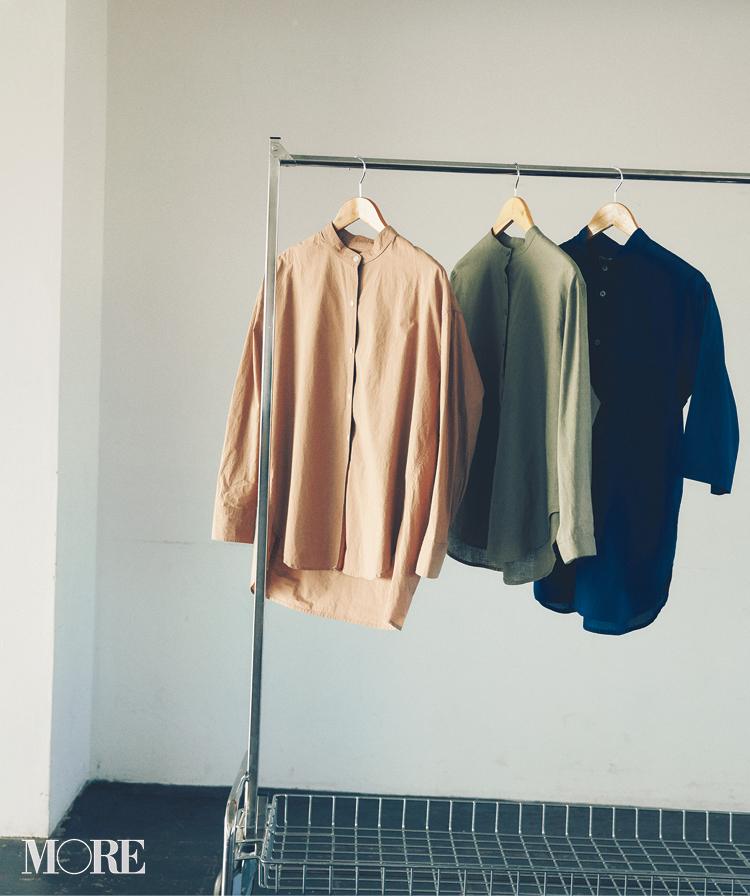 ニットをしまってシャツを着よう!! 「ボックス型」と「バンドカラー」でシャツの楽しさ倍増計画_1_3