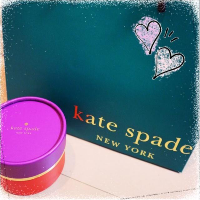 今年1年頑張った自分に、ご褒美を♡1万円前後で買える!kate spadeのイヤリング&ピアスがオシャレ女子たちに人気☻_1