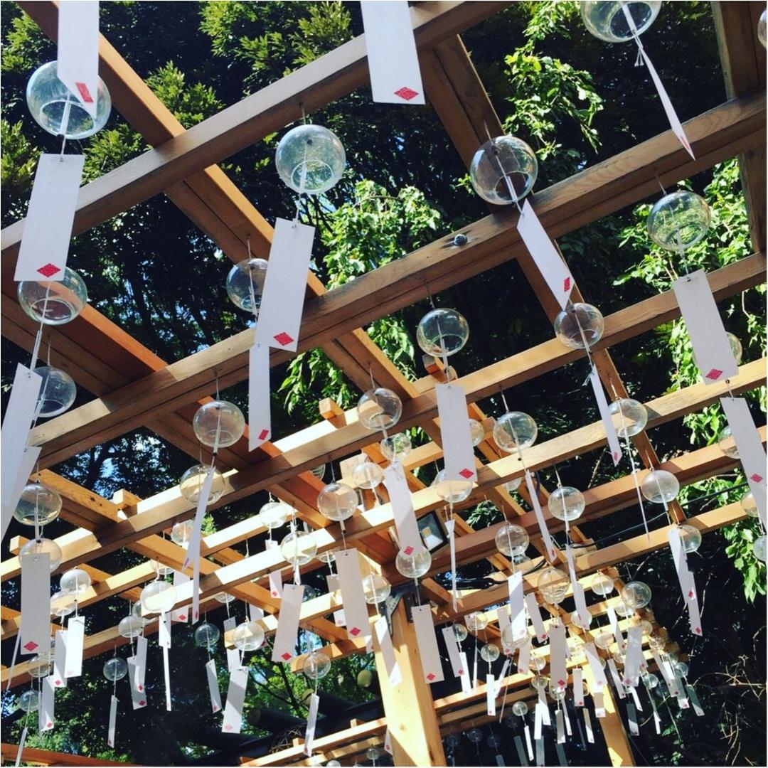 ♡夏にやり残したことはないですか??まだ間に合う!夏らしさを感じるなら川越の◯◯神社へ♡_5