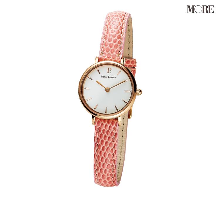 可愛げのある大人は、ピンクゴールドベゼルの腕時計を毎日の手もとに選んでいた♡_3