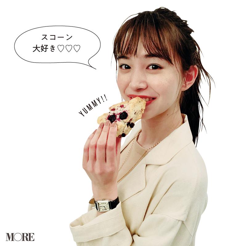 『仮面ライダーゼロワン』出演中。井桁弘恵の好きな食べ物♡【モデルのオフショット】_1