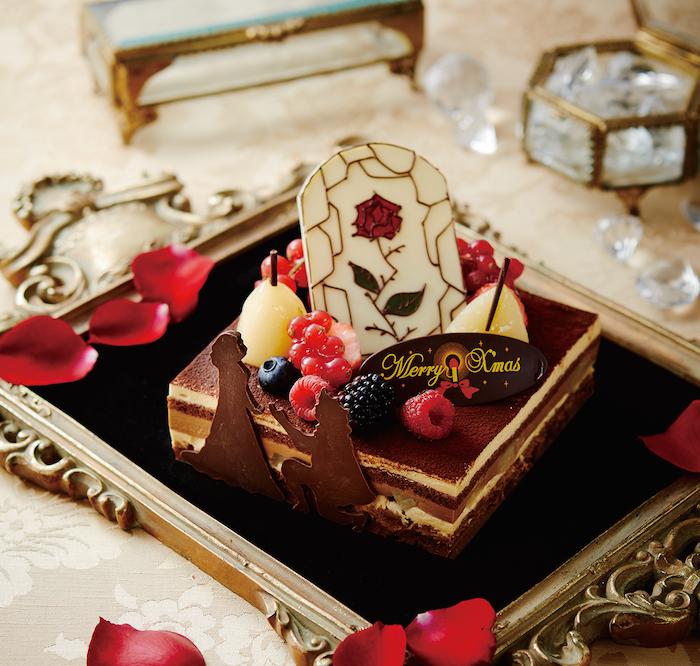 今年のテーマは『美女と野獣』♡ 『京王プラザホテル』のクリスマスケーキはロマンティックさNo.1!_1_2