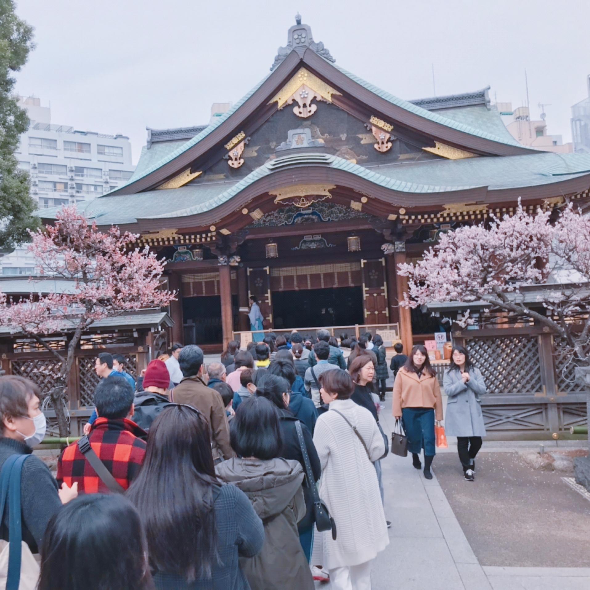何する?東京のパワースポット神社で梅まつりが最高だよ♡_1