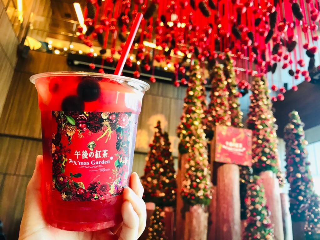 【午後の紅茶×ニコライ バーグマン】花とクリスマスの限定カフェ★フラワーティーが可愛すぎる♡_8