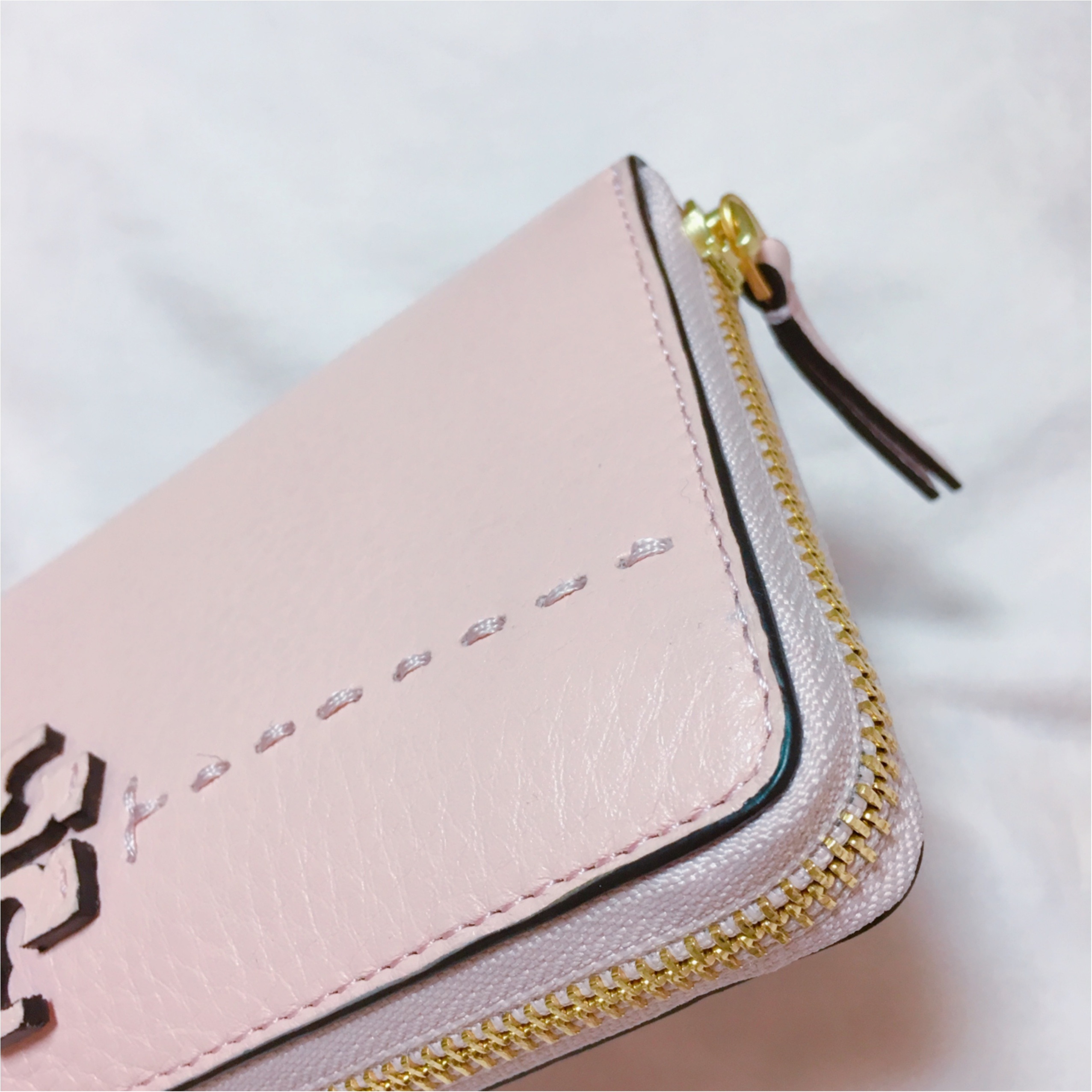 《恋愛運UPに効く最強カラー★》【TORY BURCH】でピンクの財布を新調しました❤️_3