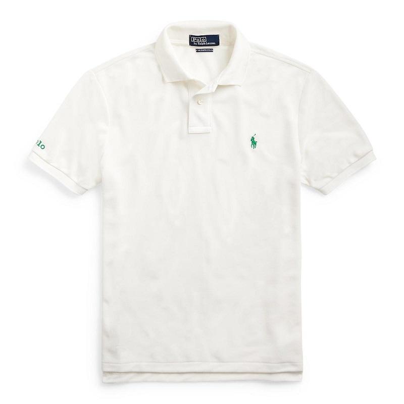 ラルフローレンのポロシャツ、ホワイト