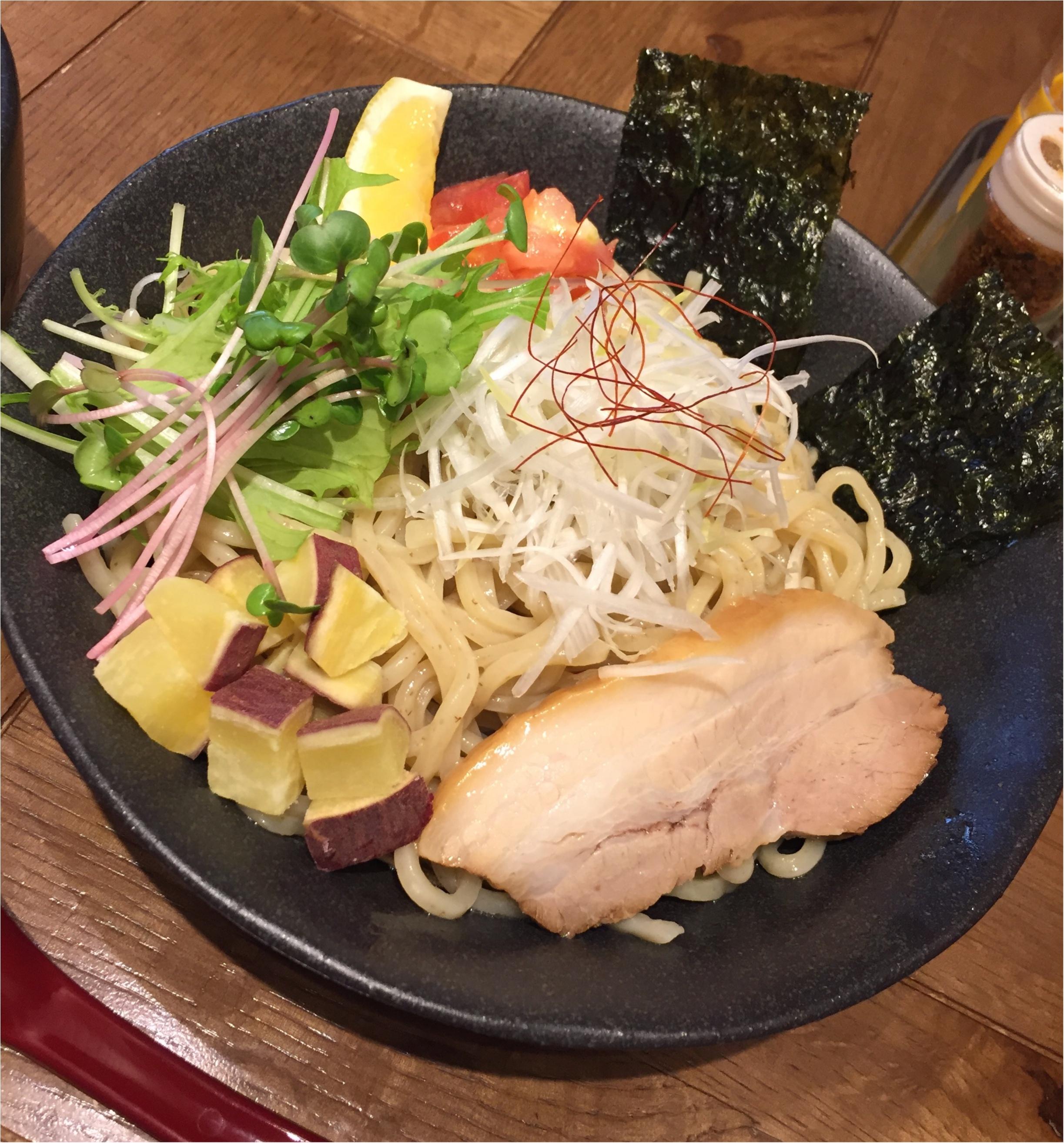 まるでビスクなヘルシー海老つけ麺✨海老鶏麺蔵が堺筋本町にOpen✨_4