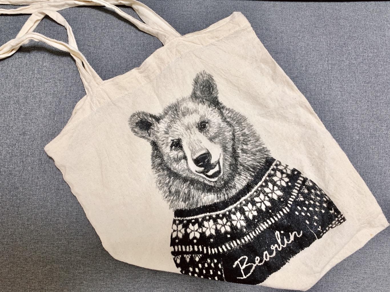 【エコバッグ】お気に入りは「ベア×ベルリン」=「BeArlin」のマイバッグ♡_1