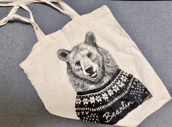 【エコバッグ】お気に入りは「ベア×ベルリン」=「BeArlin」のマイバッグ♡