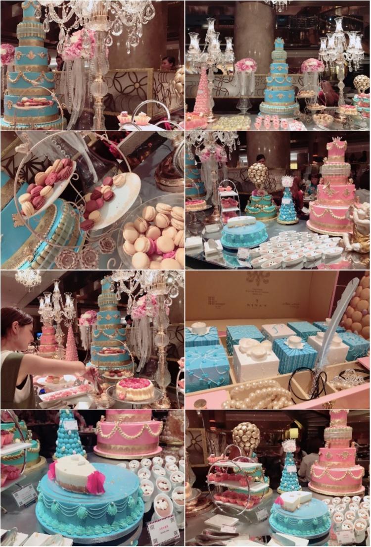 【FOOD】話題のブッフェ♥ヒルトン東京マーブルラウンジ #マリーアントワネットの結婚 ってこんな感じ♡_4