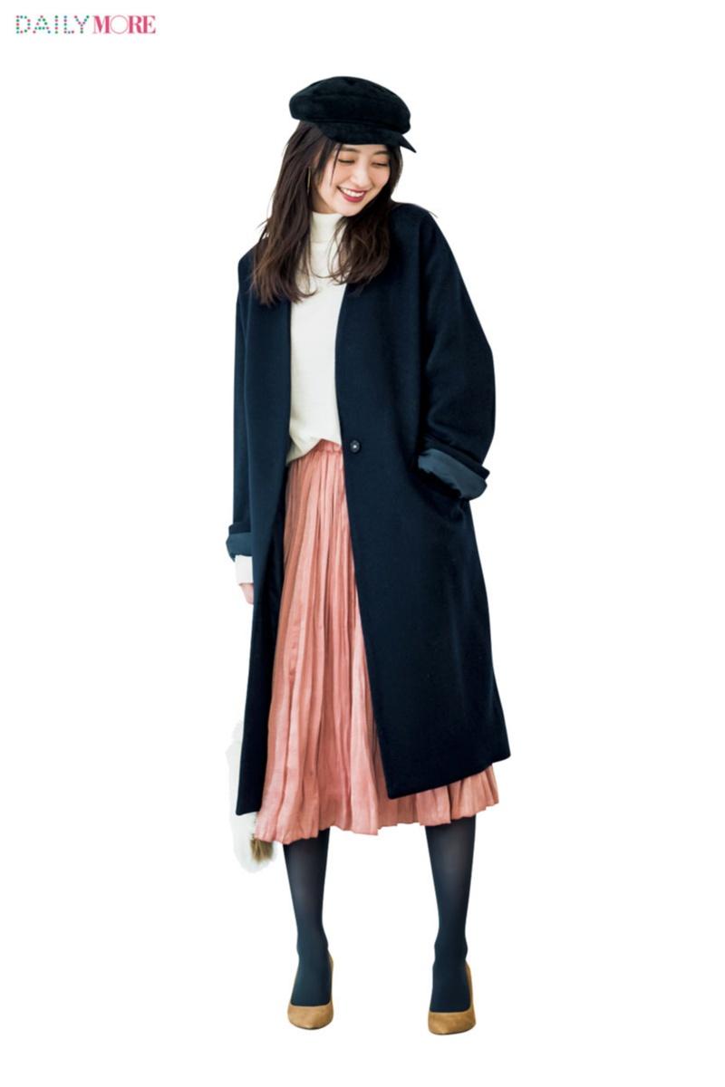 【公式通販GET MORE!】女っぽくて上品で、春まで着回せるんです♪ 『Flower Days』のプリーツスカート最強説!_2_2