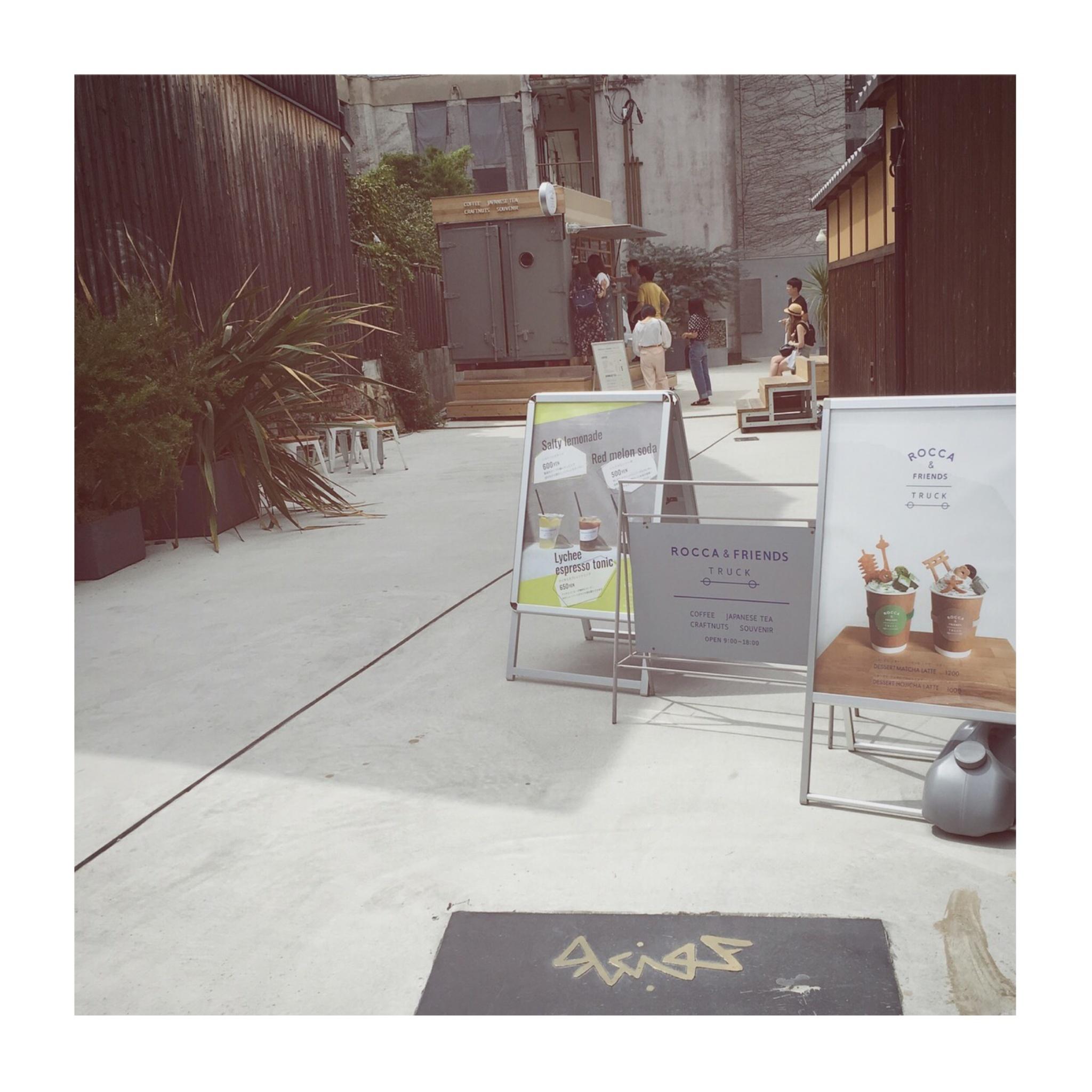 #5【#cafestagram】❤️:《京都》に行ったら絶対飲みたい!ROCCA&FRIENDS TRUCKの抹茶ラテがかわいすぎる◡̈_1