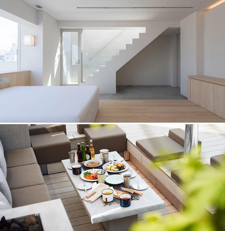 【東京のおしゃれなホテル】韓国っぽホテルおすすめ。池袋『hotel siro』、ペントハウスの雰囲気とグランピングの様子