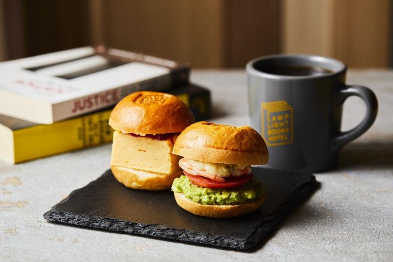 【名古屋のおしゃれホテル】『ランプライトブックスホテル名古屋』の朝食イメージ