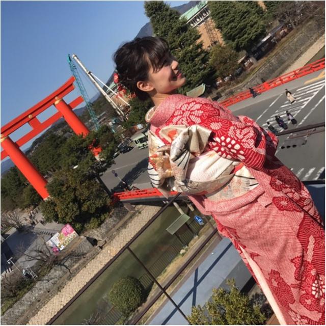 京都で友人の結婚式♪みんなで着物を着ました(*^ω^*)_1