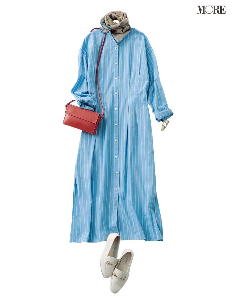 シャツワンピースの着こなし術【2020春】- 今年イチオシの色・形は? とびきり今っぽくておしゃれな最新ファッションまとめ_12