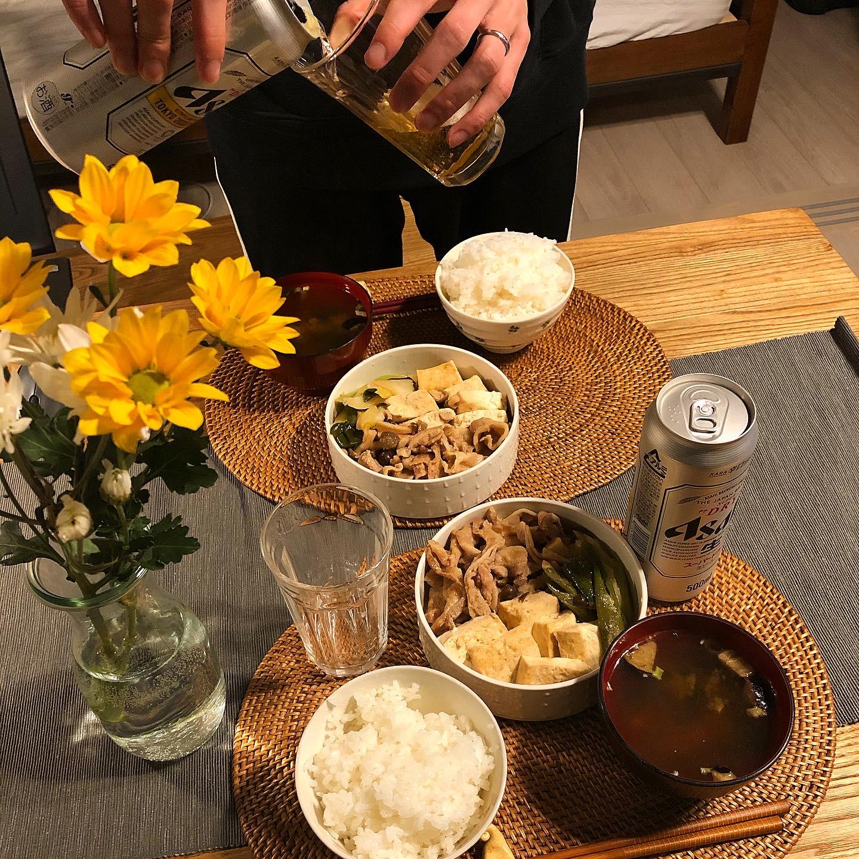 おうちごはんを楽しもう!お酒好き新婚夫婦の食卓アレンジ♡_1