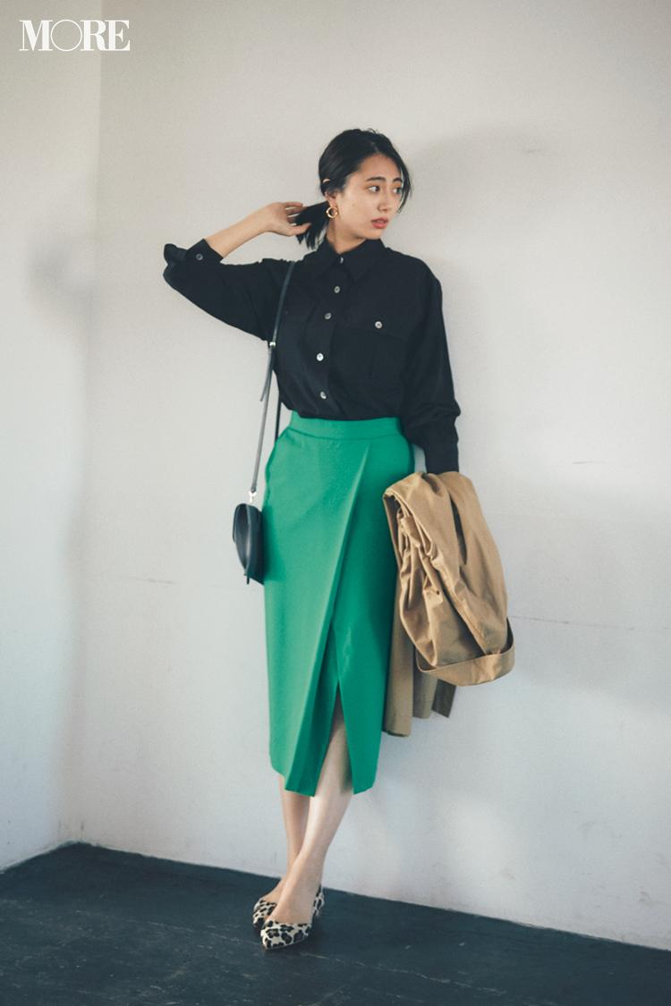春のシャツコーデ特集《2019年版》- 20代女子におすすめ!オフィスカジュアルにちょうどいい きれいめシャツのコーディネートまとめ_24
