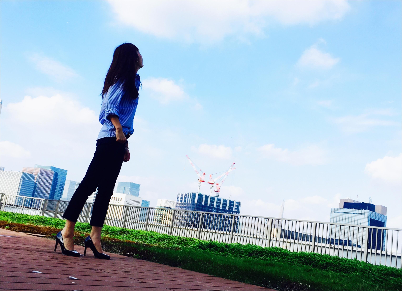 ▶▶お花と緑に囲まれた表参道<オーガニックカフェ>と<gu men'sシャツ>コーデ【はるな】_7