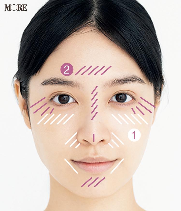 カジュアル肌のつくり方2