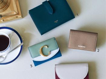 セリーヌ、バレンシアガ、クロエ、マルニ。お財布を新しくするなら大好きブランドでっ♡