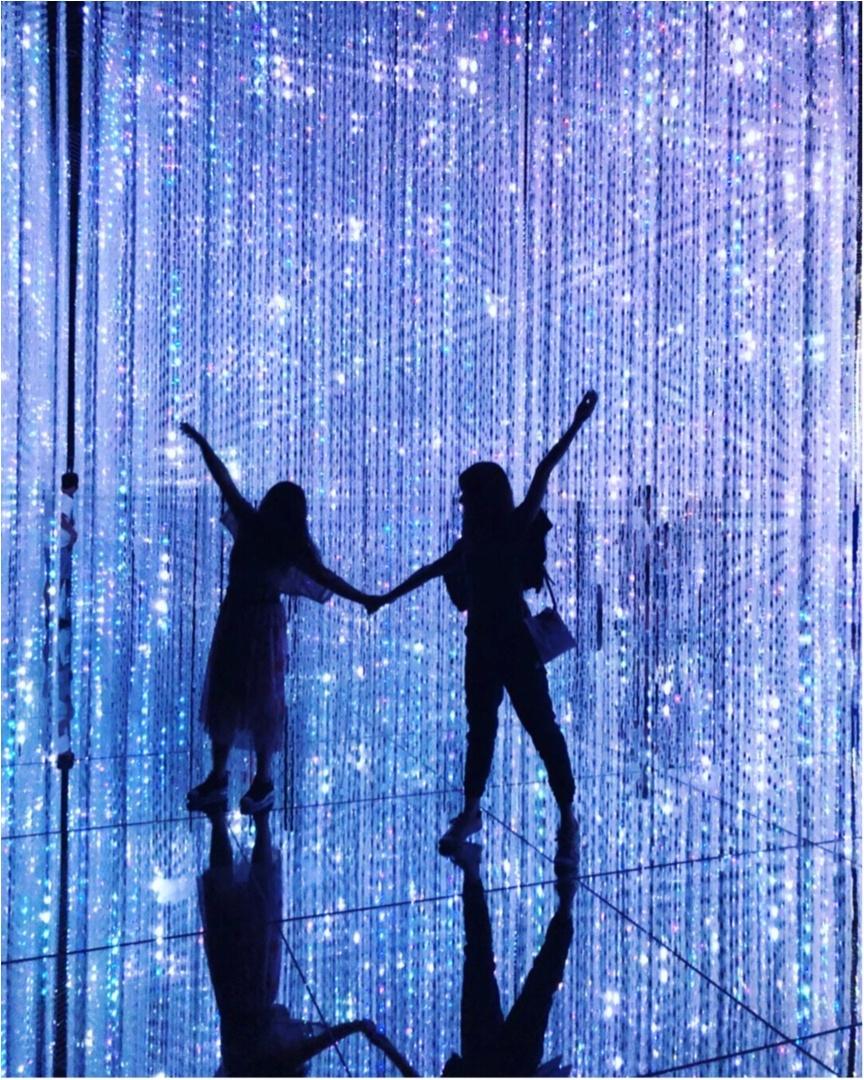 【お台場】チームラボのデジタルアートミュージアムは写真を撮りたくなるスポットがたくさん♡_8