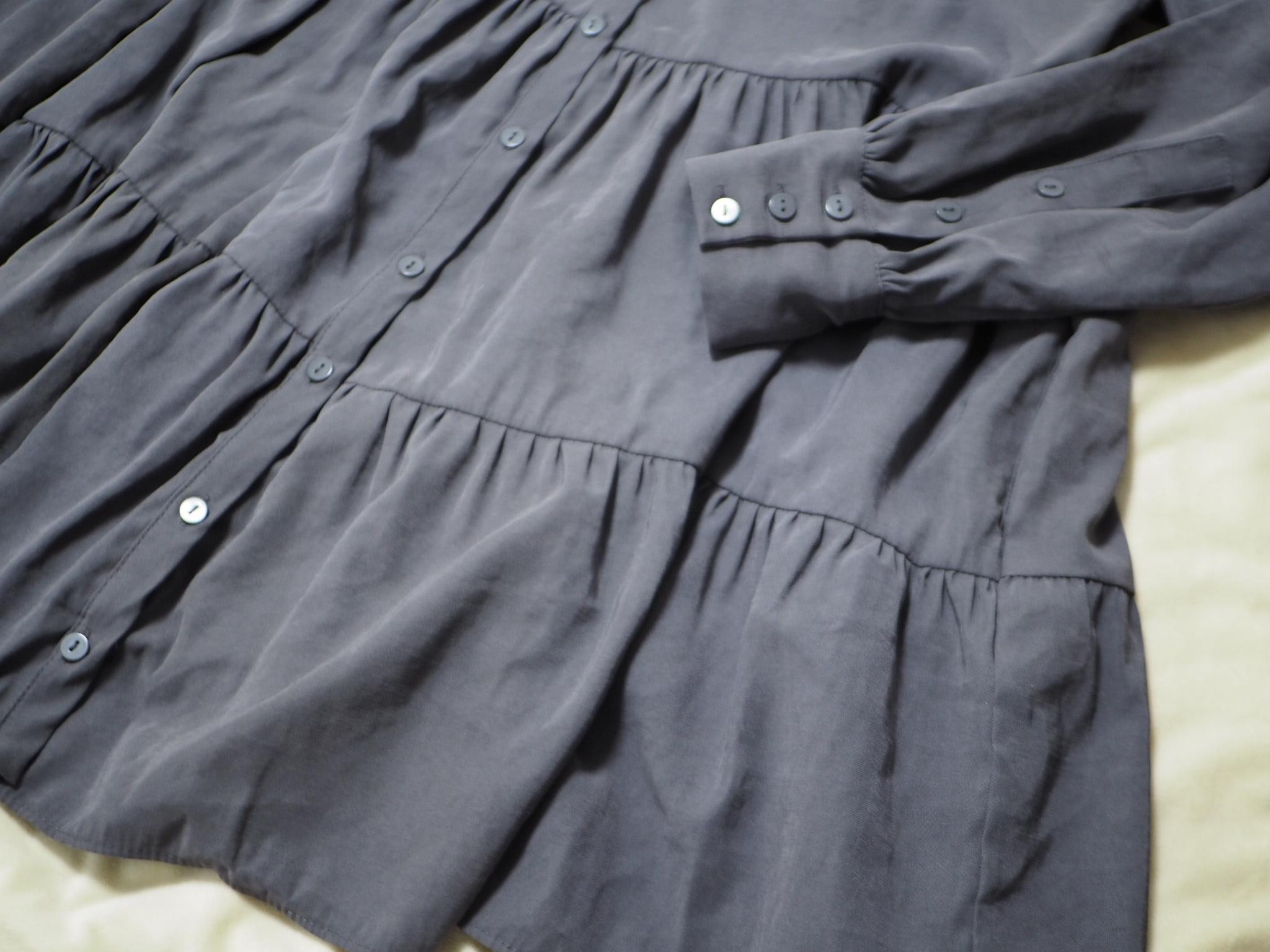 【ZARA】今から春まで着回せる! おすすめのトレンド服《ティアードシャツ》★_4