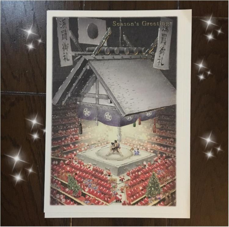 【クリスマスカード】サンタさんが東京観光?!プレゼントに添えたら喜ばれる!キュートなサンタさんがいっぱいのクリスマスカード♡♡_2