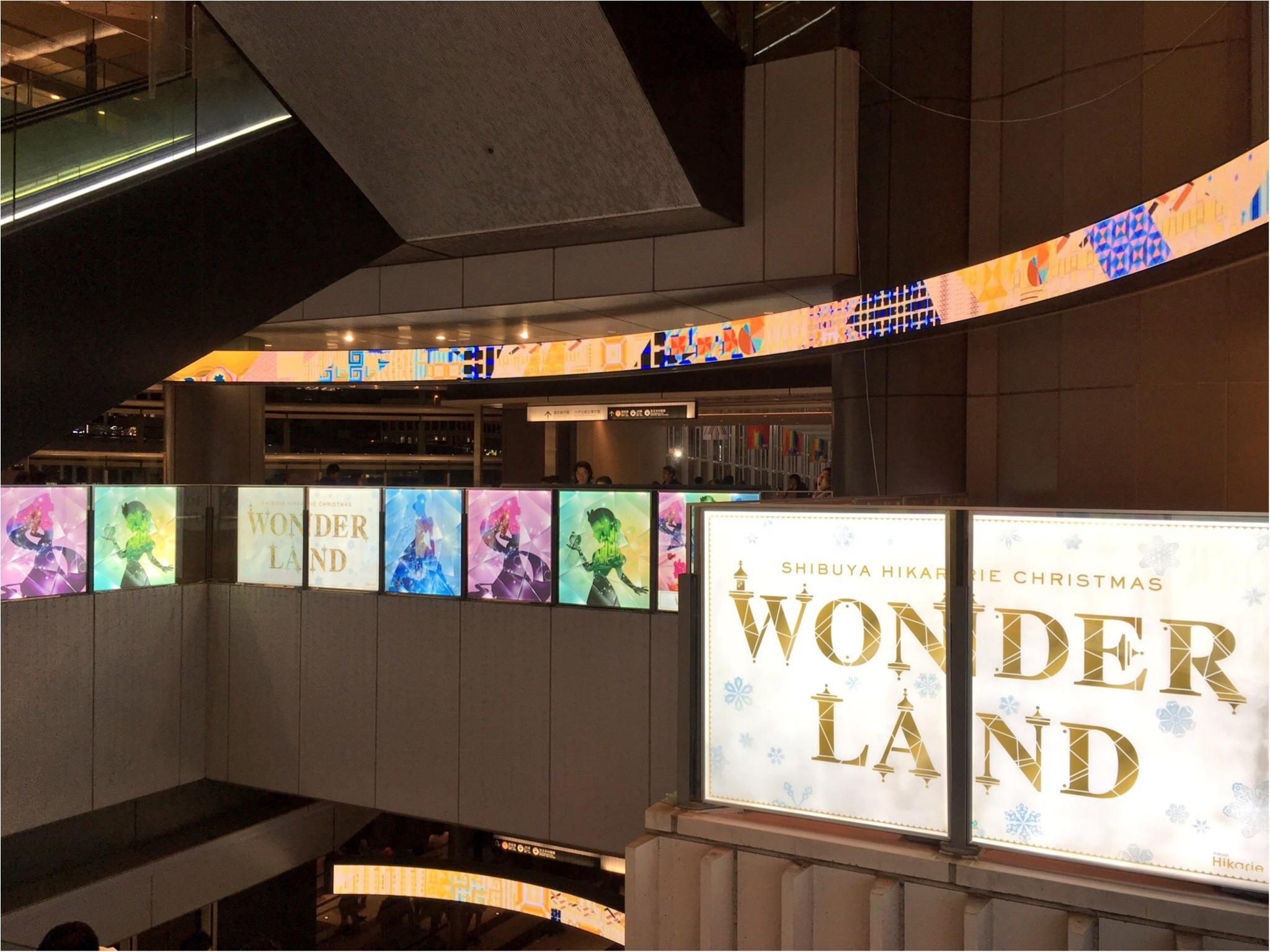 『渋谷ヒカリエ』のクリスマスはディズニープリンセスたちとコラボ♡『ラプンツェル・ツリー』点灯式に行ってきました(﹡´◡`﹡ )♡_3