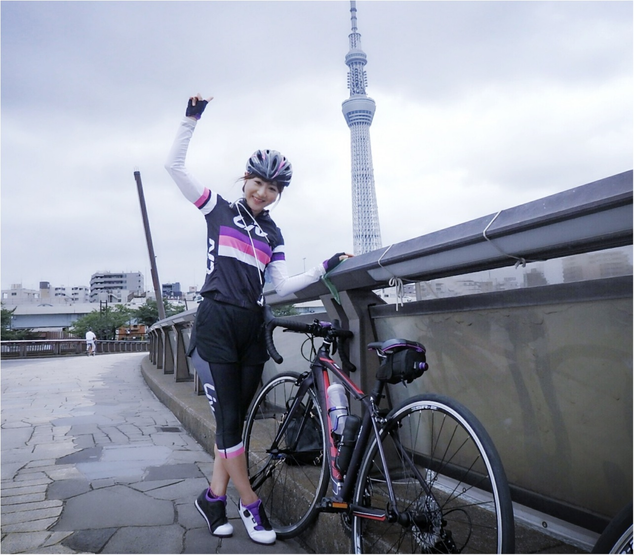 自転車で東京下町めぐり♡築地〜浅草〜東京スカイツリーまで!穴場グルメ&フォトスポットをご紹介♪ #ツール・ド・東北【#モアチャレ さえ】_4