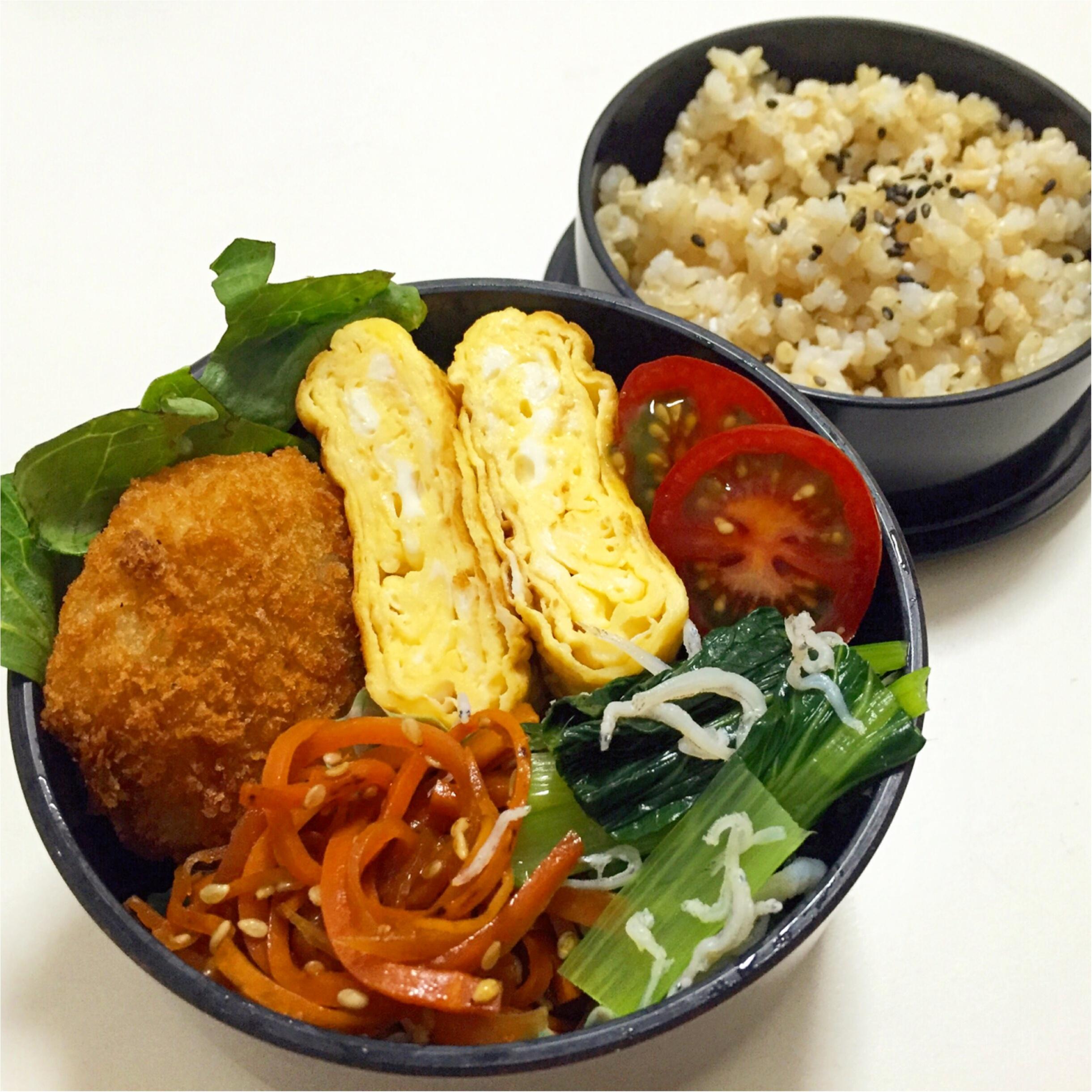 MORE7月号掲載サラダレシピフル活用!1週間の常備菜とお弁当***さっこ_3