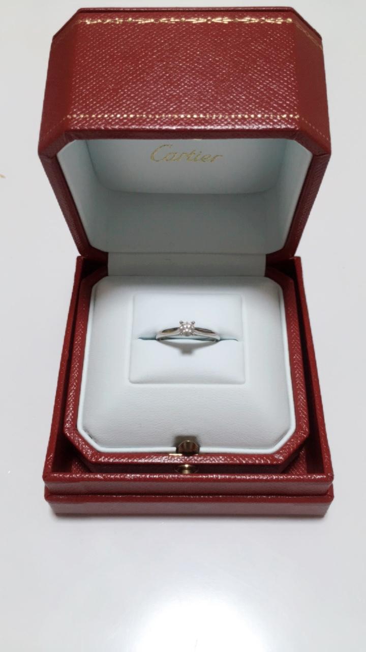 《Cartier カルティエ》エンゲージリングとマリッジリング♡_2