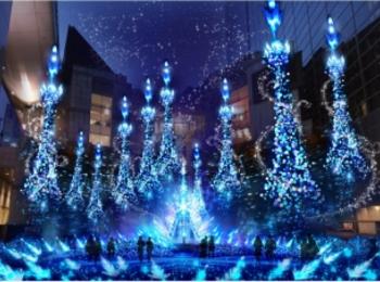 東京都内のおすすめイルミネーション、表参道、恵比寿、お台場etc.11選☆彡