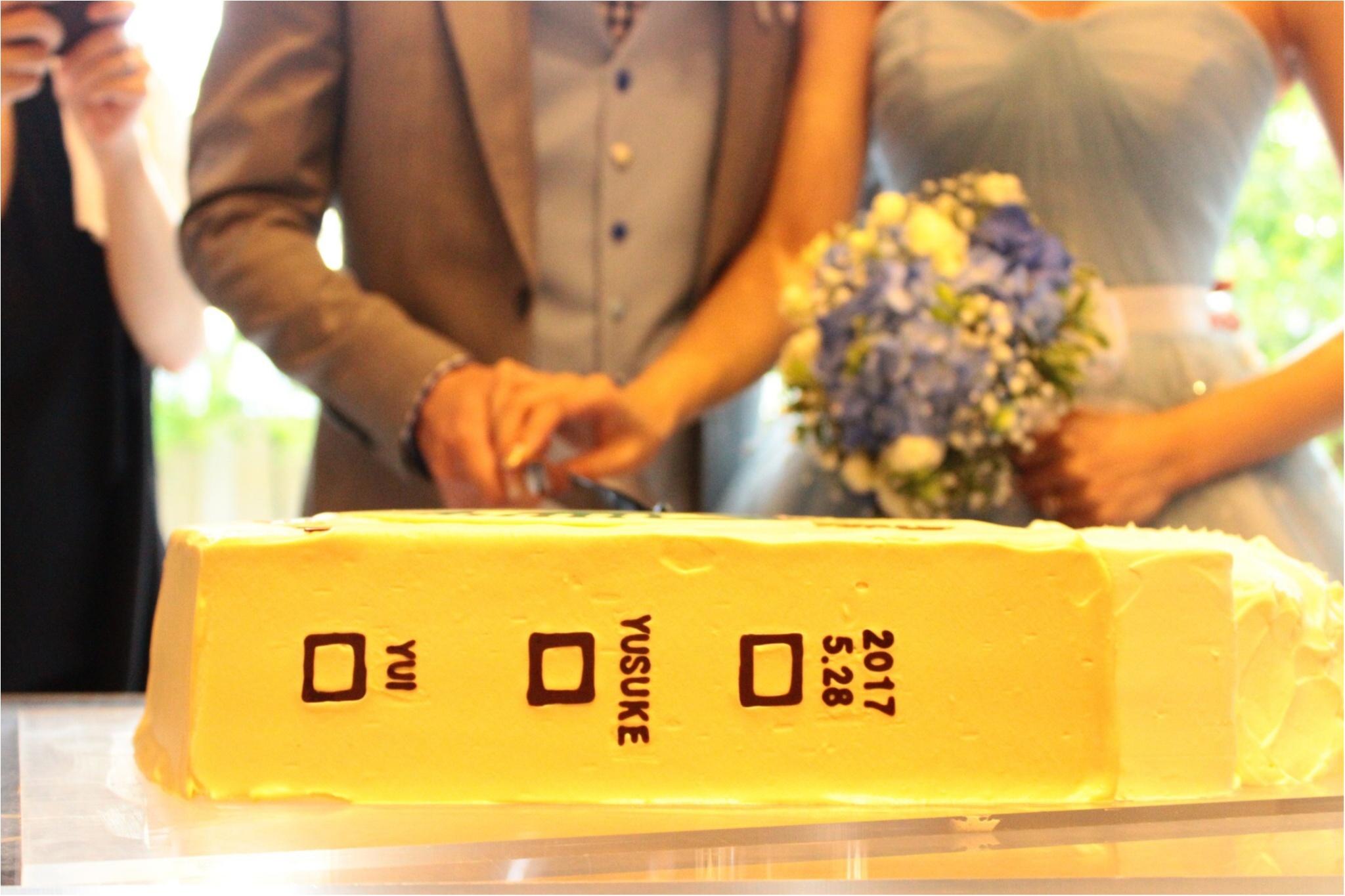 【ゆい婚】好きなものを詰め込んだ結婚式!ケーキはもちろん、、♡_5