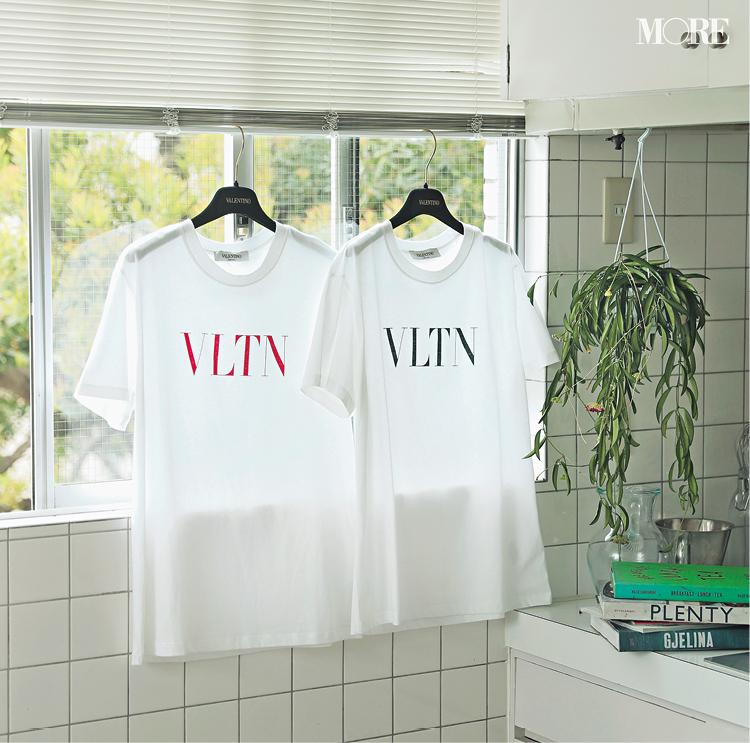 """『ヴァレンティノ』のロゴTで、""""長く使いたくなるTシャツ""""デビューしてみない?_1"""